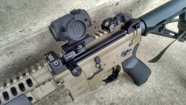 Revolutionary New AR15 Side Charging System