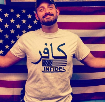 Every Peacemaker JFM15 AR15 comes with a free Infidel t-shirt courtesy of Florida Gun Supply