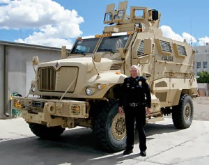 This is a picture of an MRAP.