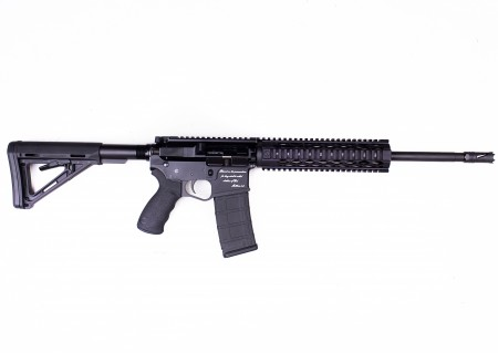 Introducing: the Peacemaker JFM15 AR15 chambered in 223/5.56. The ultimate Jihad fighting machine.