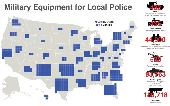 MRAPS Per State.