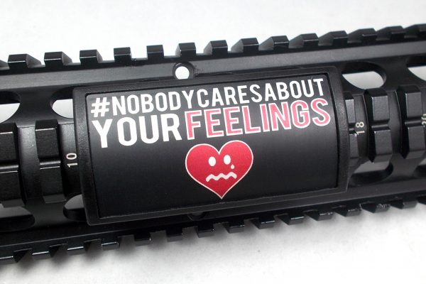 Nobody Cares rail cover