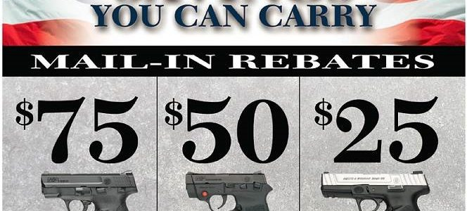Smith & Wesson Rebate Program with Florida Gun Supply