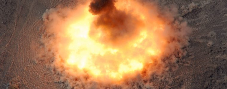 BOOM BABY! USA Drops Largest Non-Nuclear Bomb on ISIS