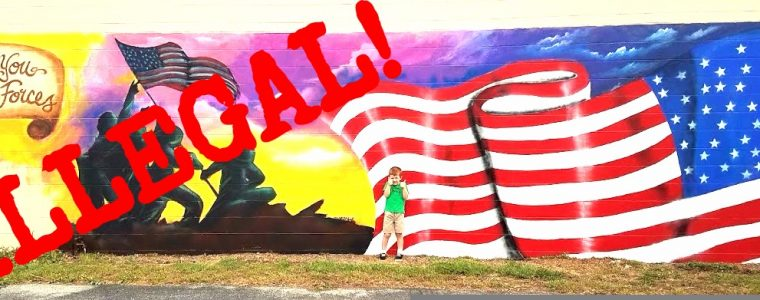 SAVE THE MYSTERY MURAL! Sign the Petition and SHARE THIS POST!