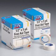 1/2 in. x 5 yd. First aid tape roll- 20 per dispenser box