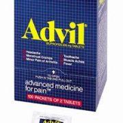 Advil® Advanced Medicine for Pain™- 50 2-packs- 100 tablets per dispenser box