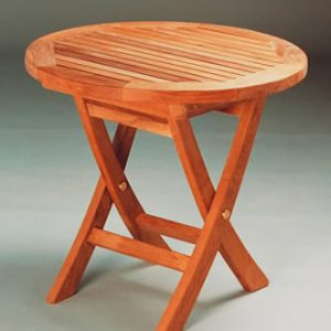TBF020R 20-Inch Mini Side Round Folding Table