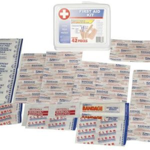 36 Piece Portable First Aid Kit (Set of 10)
