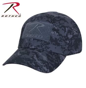Midnight Digital Camo Hat (Rothco)