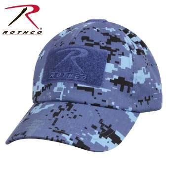 Sky Blue Digital Camo Operator Hat by Rothco