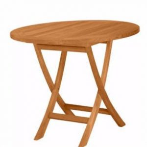 TBF035R 35-Inch Round Bistro Folding Table