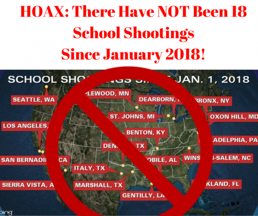 HOAX: There Were NOT 18 School Shootings In January 2018