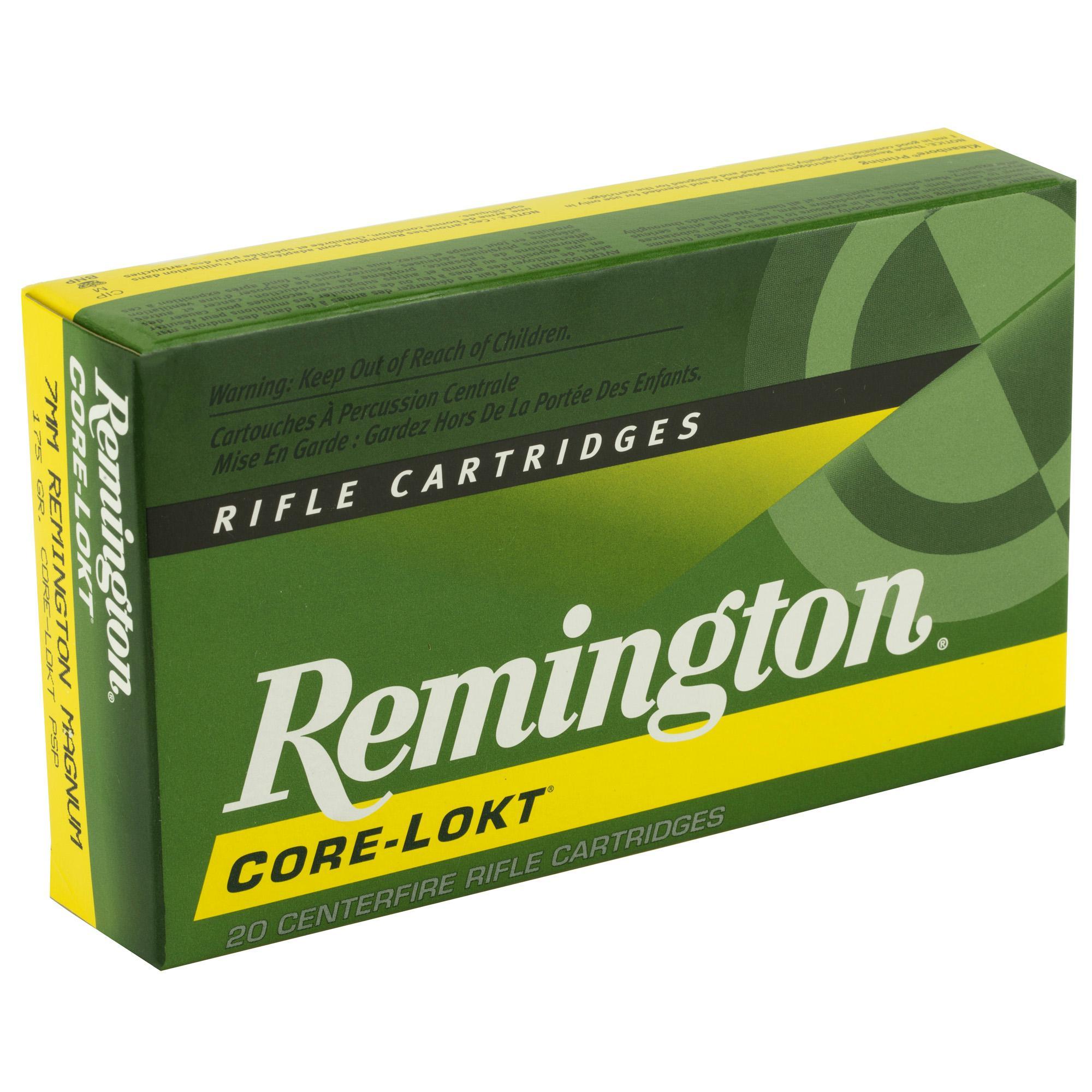 Rem 7mm Rem 175gr Psp Cl 20-200