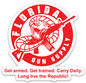 "Florida Gun Supply ""Get armed. Get trained. Carry daily."""